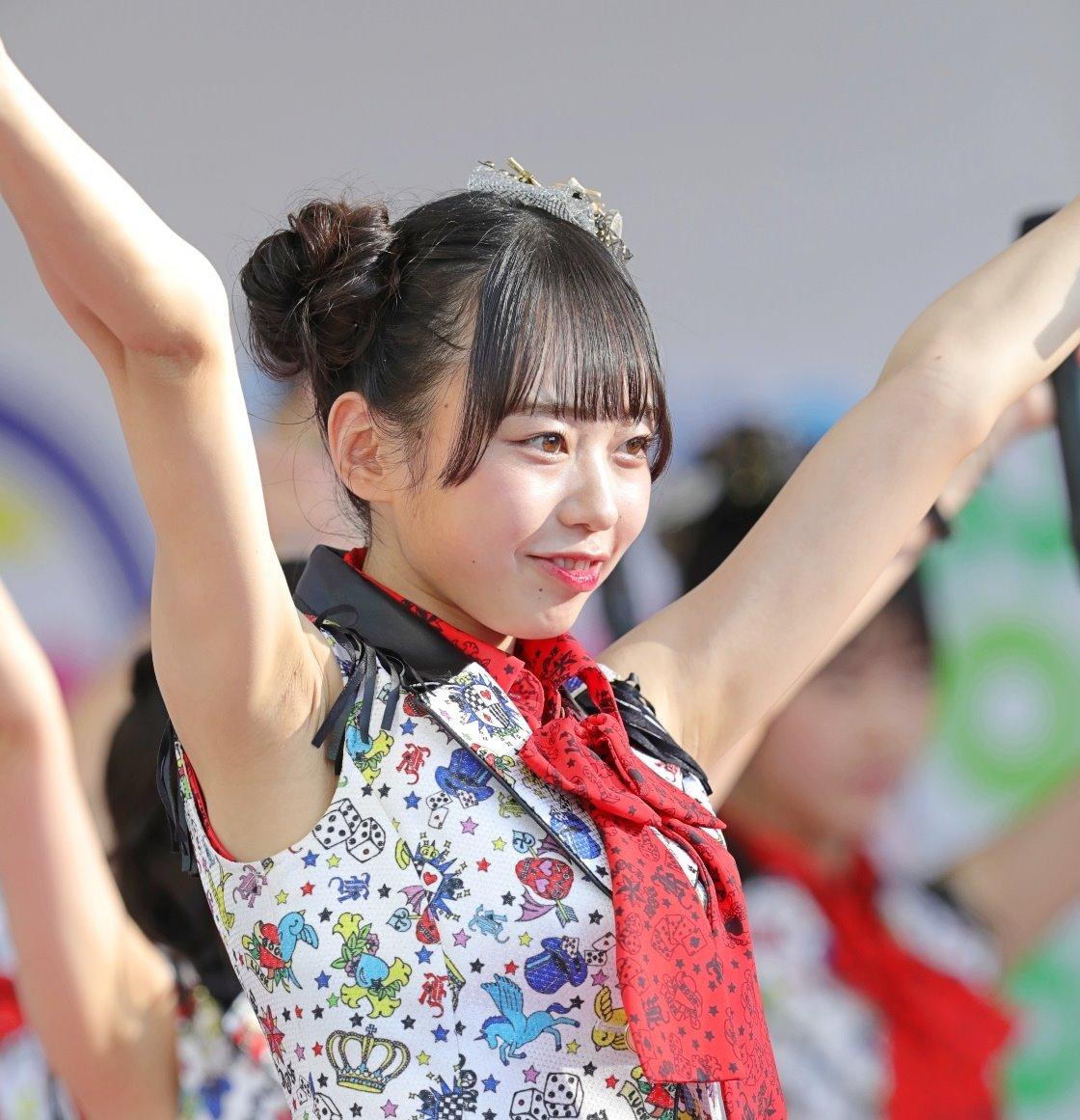 AKB48フレッシュ選抜メンバーの腋見せライブ (6)