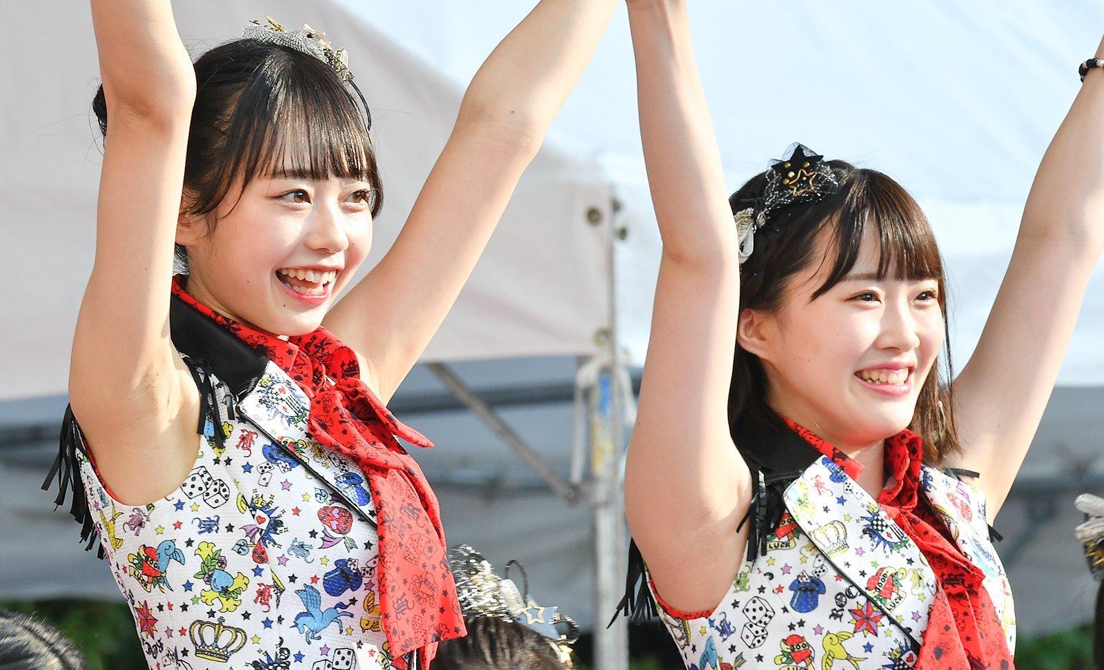 AKB48フレッシュ選抜メンバーの腋見せライブ (7)