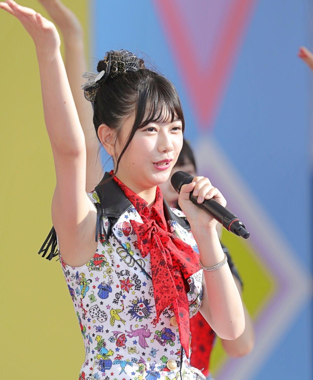 AKB48フレッシュ選抜メンバーの腋見せライブ (9)