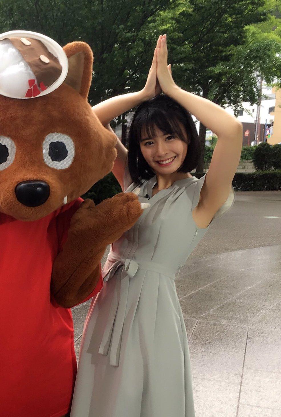 望木聡子の腋見せ (1)
