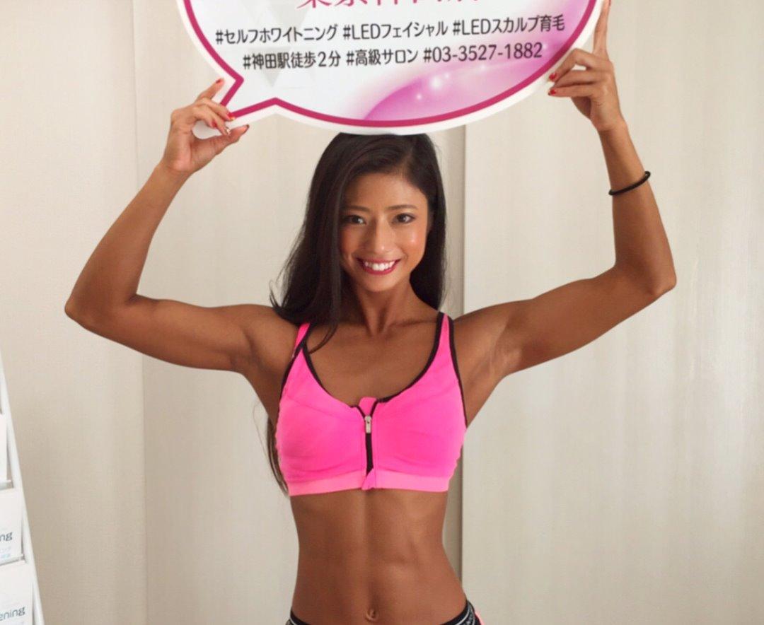 田上舞子の筋肉腋 (6)