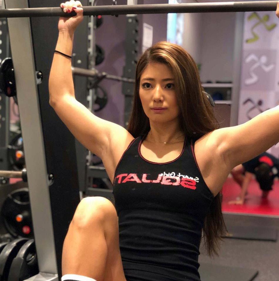 田上舞子の筋肉腋 (8)