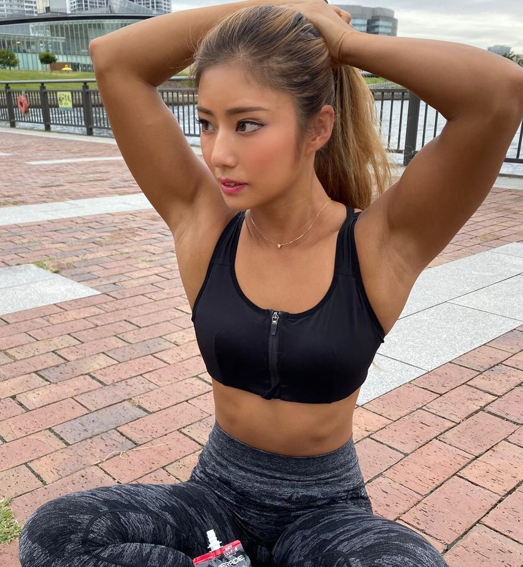 田上舞子の筋肉腋 (10)