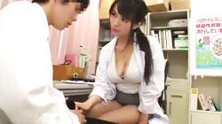 「先生、ボクとSEXして下さい」フェロモン出まくりの保健室の先生におねだりし何度も中出しSEXしちゃうウブな童貞男子