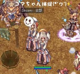 ろれちゃんとゴマちゃん参戦5